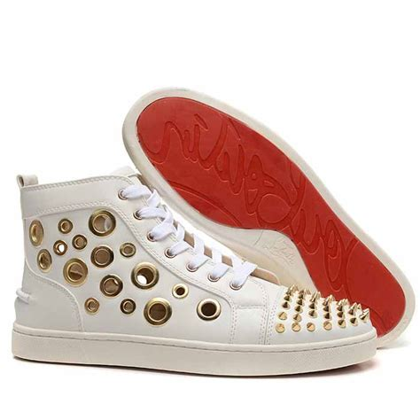 christian louboutin kid shoes cheap christian louboutin gold spike flat kid