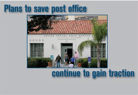 La Jolla Post Office by San Diego Community News Plans To Save Post Office