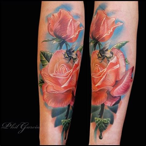 peach rose tattoo vera nicestthingscom die hauptmahlzeit instagram photo