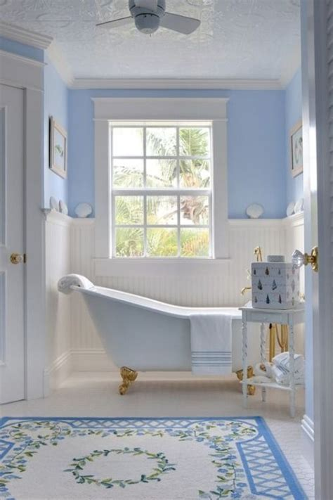 periwinkle bathroom a light color of periwinkle i love it maybe my new