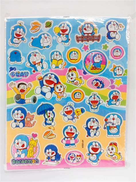 Stiker Doraemon 3 doraemon stickers x 5 pieces end 1 13 2018 3 15 pm