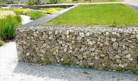 garden gabions from gabionsupply.com | home improvement