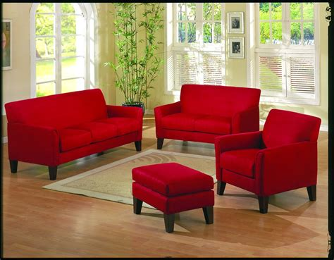 living room with red couch how to decorate your living room with a red sofa