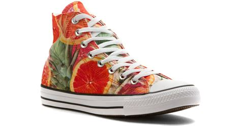 Carambola Shoes Black converse chuck all fruit slices hi lyst