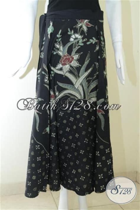 Rok Hitam Panjang By Marionline jual rok batik lilit panjang modern warna hitam untuk