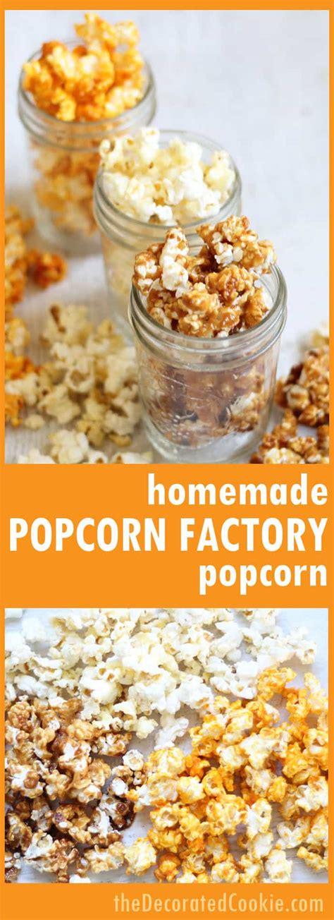 Handmade Popcorn - popcorn factory popcorn buttered cheddar