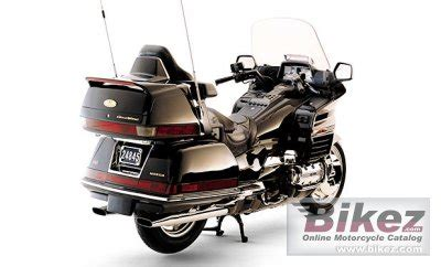 2000 honda gl 1500 se gold wing specifications and pictures