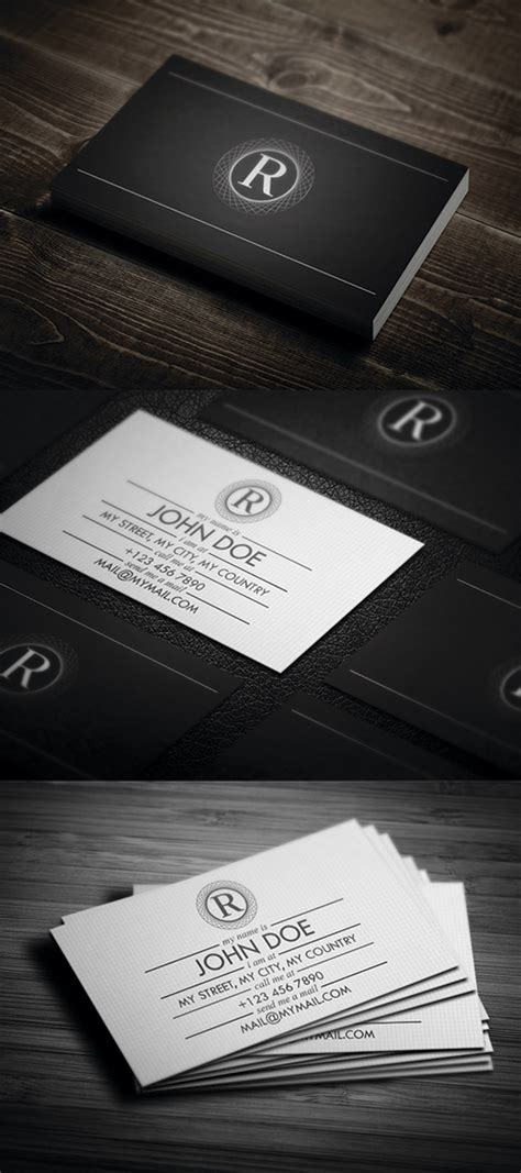 black and white business cards graphics design design blog
