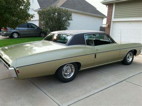 1968 impala custom coupe 1968 chevrolet impala ss custom coupe original survivor