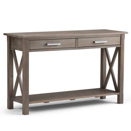 sofa tables canada waterloo console sofa table walmart canada