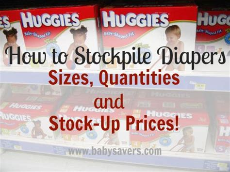 Diapers Pers 17 best ideas about stockpile on baby