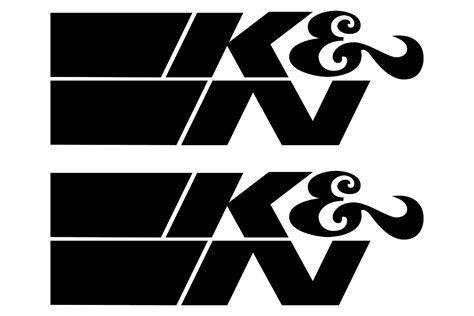 k n logo stickerschoose the color yourselfand select the