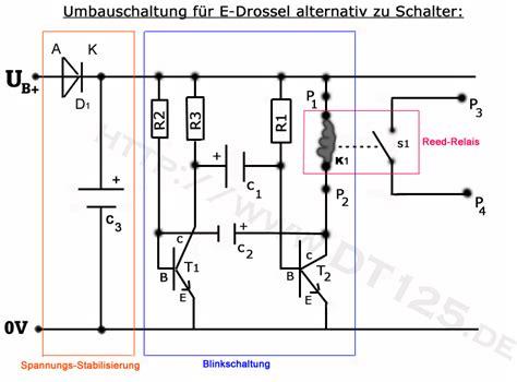 Motorrad Scheinwerfer Einstellen H He taktgeber 120hz mit reedrelais und bc547 mikrocontroller net