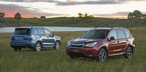 subaru forester price 2015 subaru forester pricing and specifications photos