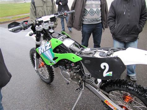 Mz Motorr Der 125 by Wettbewerbsenduro Mz Gs 125 Bj 2010 Mz Faber