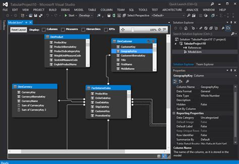 business intelligence templates for visual studio 2015 sql server data tools business intelligence for visual