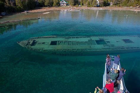 The Sweepstakes - the sweepstakes shipwreck tobermory boat tours