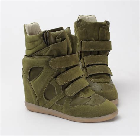 velcro wedge sneakers details about annakastle womens velcro wedge