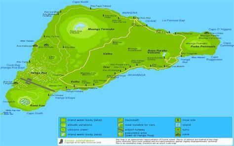 easter island map easter island easter island map travel places