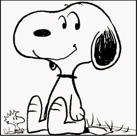 snoopy coloring pages coloringsuite com