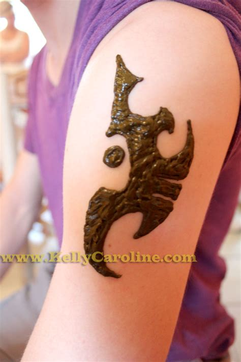 boy with henna tattoo scorpion henna design for boys caroline