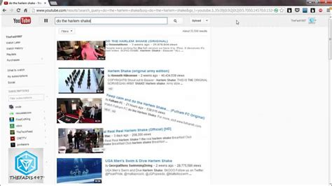 membuat youtube harlem shake do the harlem shake youtube effect youtube