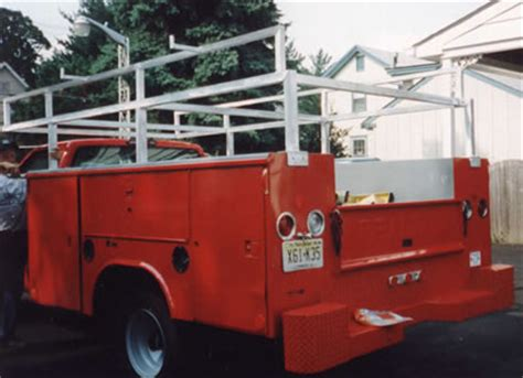 custom food trucks designed to meet the needs of every stout s metal products inc custom truck rack