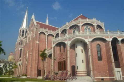 st. mary's cathedral, yangon, myanmar | life......in 3 d