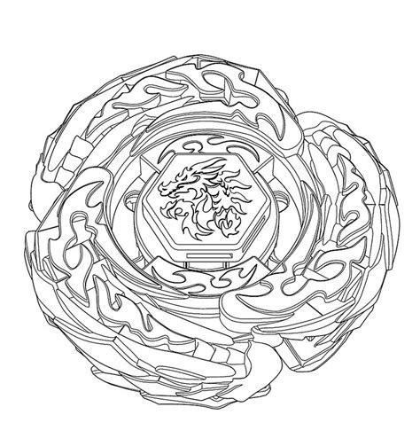 Beyblade Metal Fusion Coloring Pages To Print