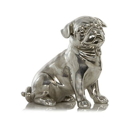 pugs accessories george home pug ornament home accessories asda direct