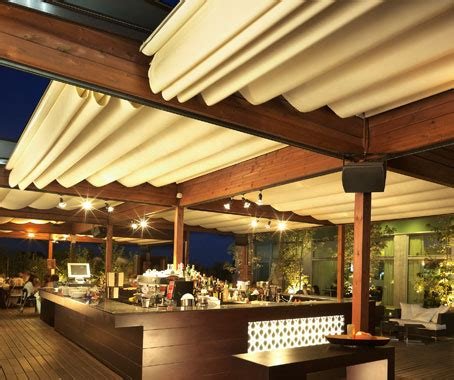 Awning System by Corradi Outdoor Living Space Architecture Design