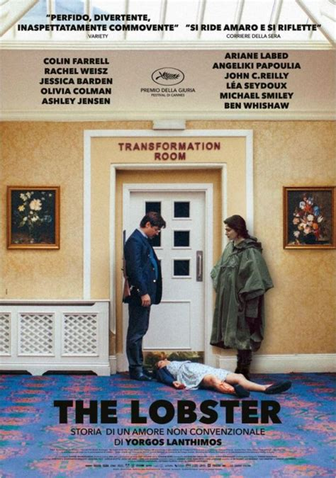 The Lobster 2015 Full Movie The Lobster New Italian Poster Is Not Conventional Scifinow The World S Best Science Fiction