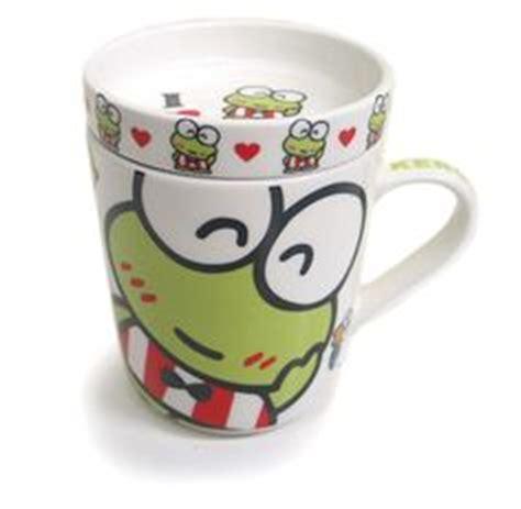 Mug Melamin Wajah Kero Keroppi keroppi on japanese fabric frogs and hello