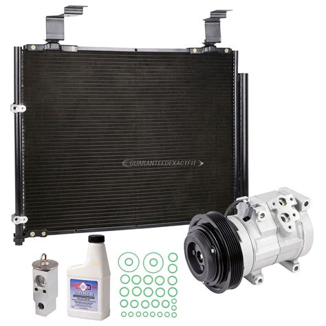 acura r6 2004 acura mdx a c compressor and components kit all