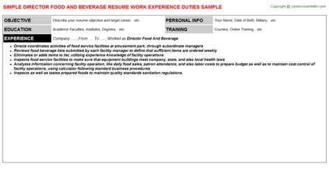 Beverage Merchandiser Cover Letter by Temporary Beverage Merchandiser Resumes Sles Descriptions And Duties