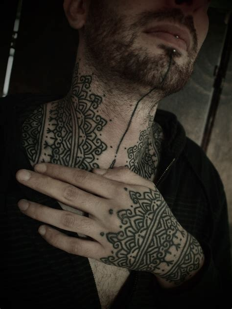 guy henna tattoos 51 adorable neck henna tattoos