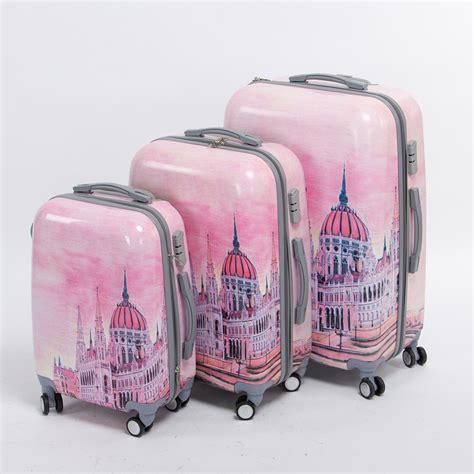 Pattern Travel Set 6 In 1 Bags In Bag Organizer Tas Set Dalam Kope pink pc hardside palace trolley luggage set 20 24