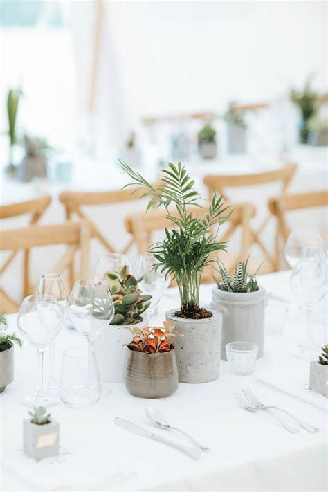 Minimalist Botanical Wedding in a London Backyard   Quince