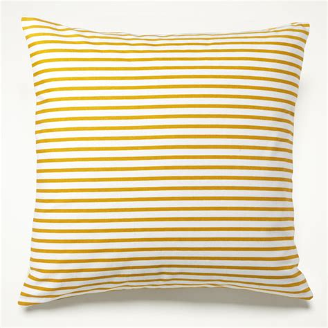 yellow couch pillows yellow sailor stripe pillow mediterranean decorative