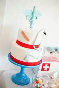 Doctors Cake Ideas Vintage Gwen Soiree Day Nursing School Grad Roundup