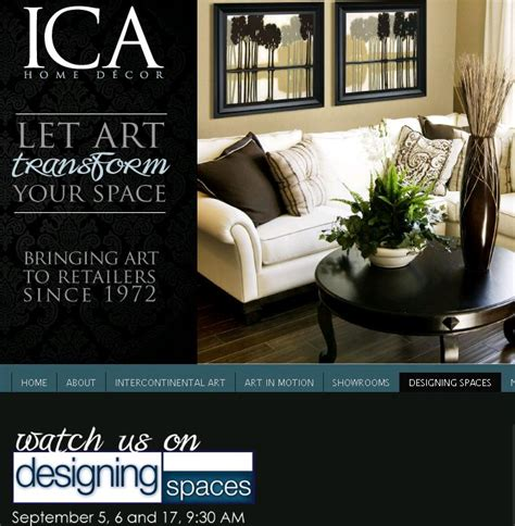 Ica Home Decor | ica home decor s tara fortunato to appear on designing