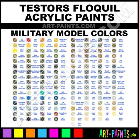 floquil model acrylic paint colors floquil model paint colors