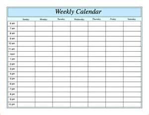 weekly memo template 7 weekly calendar with hours memo formats