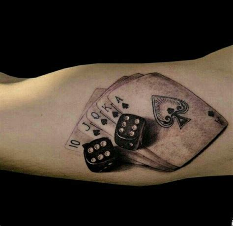 dice tattoo meaning cards and dice tattoos ink