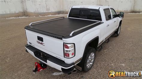 pop up truck bed cers putco pop up truck bed rails fast facts youtube