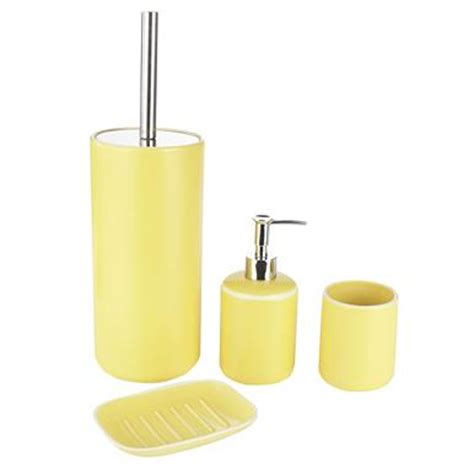 yellow bathroom accessories debenhams