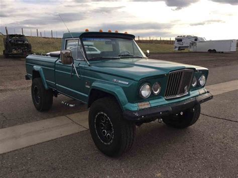 jeep gladiator 1969 jeep gladiator for sale classiccars com cc 977973