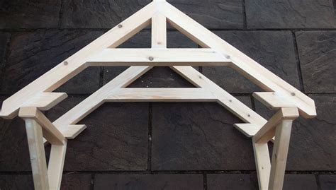 Building A Frame how to build a small portico above a door part 1 the