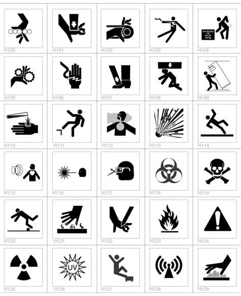 design lead meaning symbols com safety label design guide safety