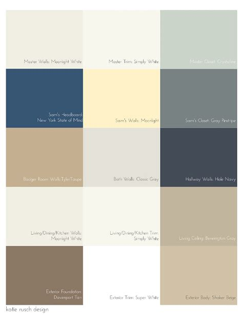 paint color palette guest posts interior design ideas home bunch